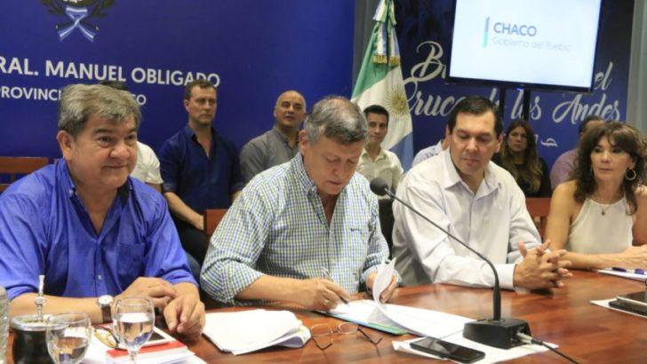 Obras: presentaron créditos para los municipios, por más de 700 millones