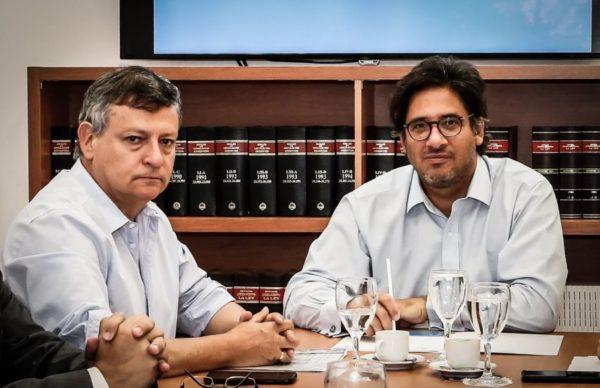 Peppo, Garavano y el STJ analizaron la agenda judicial chaqueña 1