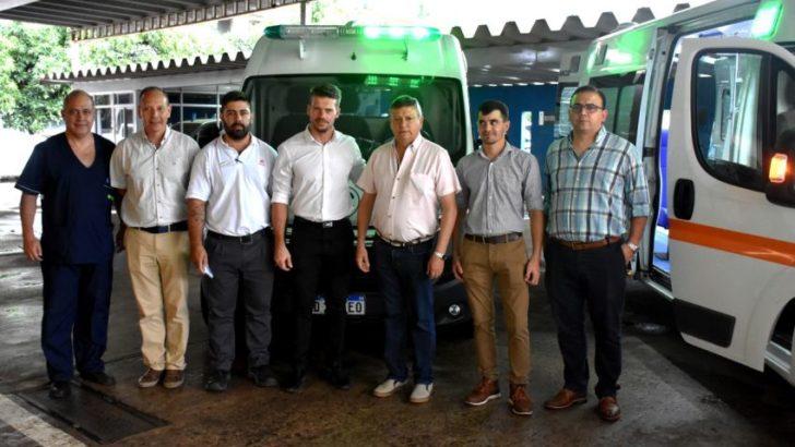 Presentaron ambulancias de alta complejidad que se suman al sistema sanitario provincial