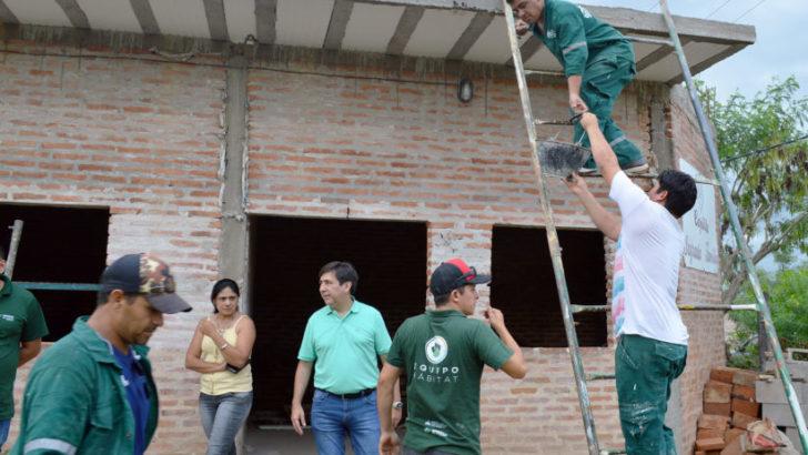 Presidencia del Concejo: colaboran en la refacción y construcción de la capilla Sagrada Familia