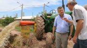 San Bernardo: Peppo supervisó los trabajos de bombeo
