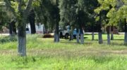 Santa Sylvina: policía salvó a un joven que se ahogaba