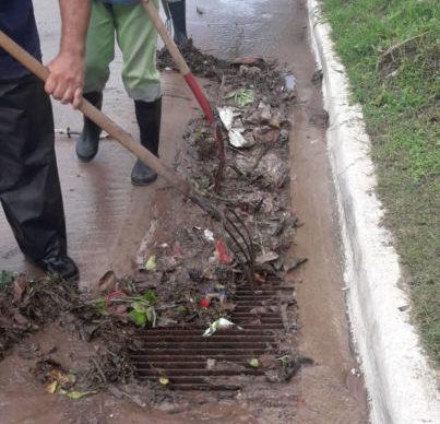 Se declaró el Estado de Emergencia Hídrica y refuerzan los trabajos en diferentes zonas de la ciudad 2