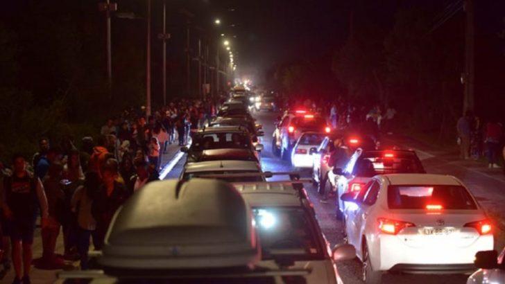 Sismo en Chile: murieron dos personas durante la evacuación por la amenaza de tsunami