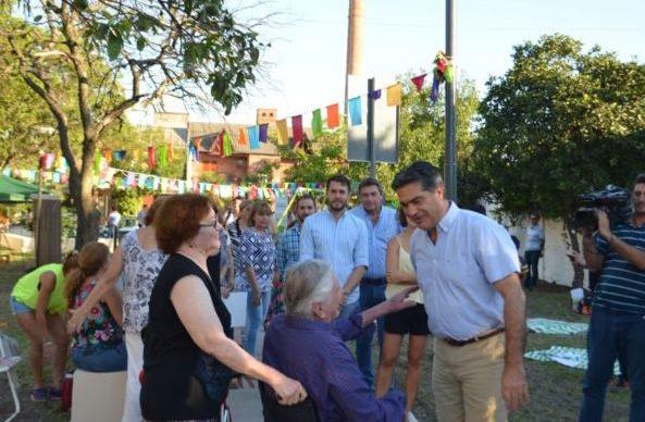 Capitanich inauguró la recuperación y refacción integral de la Plazoleta Codutti 2