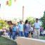 Capitanich inauguró la recuperación y refacción integral de la Plazoleta Codutti