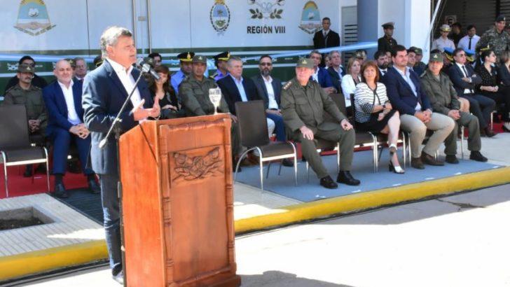 En Sáenz Peña, Peppo y Bullrich inauguraron el Comando Regional de Gendarmería