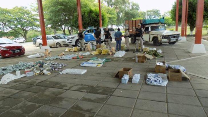 Formosa: secuestran más de 1.500.000 pesos en mercadería de contrabando