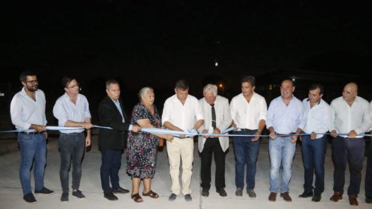 Los 107 años de Gancedo se celebraron en una jornada de inauguraciones