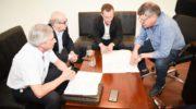 Peppo avanza en gestiones para concretar las obras del gasoducto en Chaco