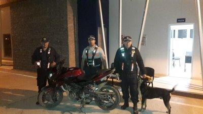Policía Caminera: intentaba pasar a Formosa con una moto robada
