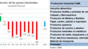 Recesión: la producción industrial pyme cayó 8,8% en enero