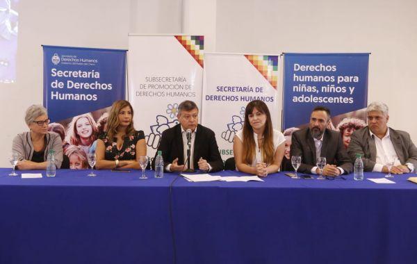 Se lanzó el Plan Provincial de Capacitación Permanente en Derechos Humanos