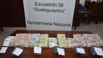 Viajaba desde Chaco a Buenos Aires con 4.364.700 pesos