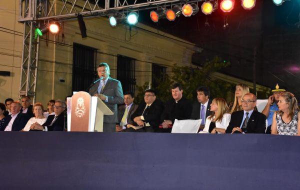 """107 años de Sáenz Peña: """"el trabajo con municipios es clave para mantener el empleo y crecimiento económico"""""""