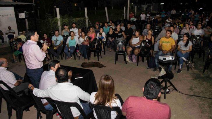 Vecinos de un nuevo sector de La Rubita iniciaron el camino hacia el ordenamiento