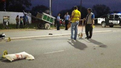 Murió tras caer de su motocicleta