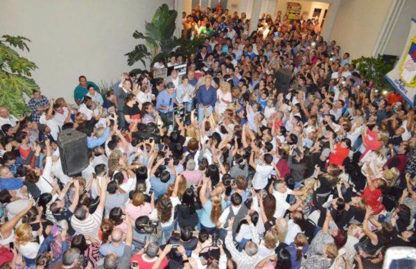 """Capitanich dejó entrever su candidatura a gobernador: """"Voy a estar donde el pueblo quiera que esté"""" 1"""