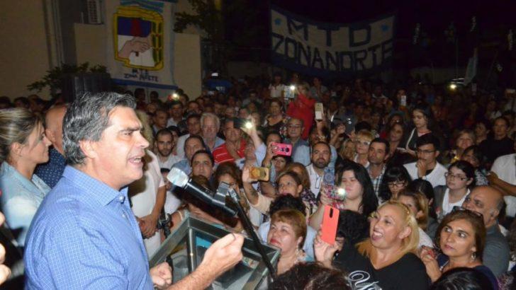 """Capitanich dejó entrever su candidatura a gobernador: """"Voy a estar donde el pueblo quiera que esté"""""""