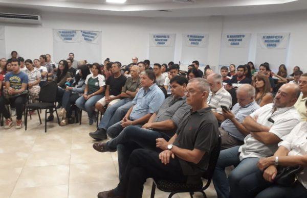 Capitanich disertó en el Primer Plenario Regional del Manifiesto Argentino 1