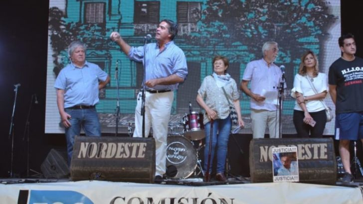 """Capitanich instó """"a enarbolar la lucha de los desaparecidos, para frenar el saqueo financiero y social de Macri"""""""