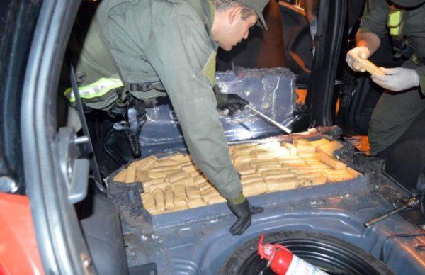 Corrientes: decomisan más de 79 kilos de marihuana ocultos en la carrocería de un vehículo