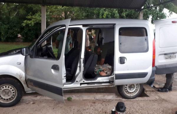 De Formosa a Chaco: llevaba 24 kilos de marihuana ocultos en el tanque de combustible