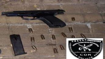 Detienen a un hombre por abuso de armas
