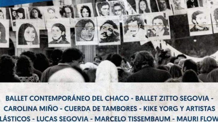 """Día de la Memoria: se presentó """"Arte por la memoria y la identidad"""""""