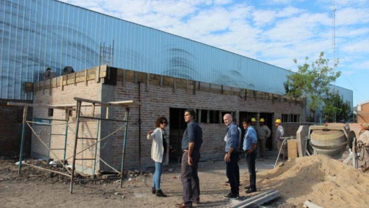 El intendente supervisó los avances en la construcción del nuevo edificio de Energía Urbana
