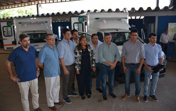 Entregaron dos ambulancias todo terreno para Río Bermejito Y Pampa del Indio