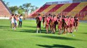 """Federal """"A"""": Sarmiento volvió a los entrenamientos"""