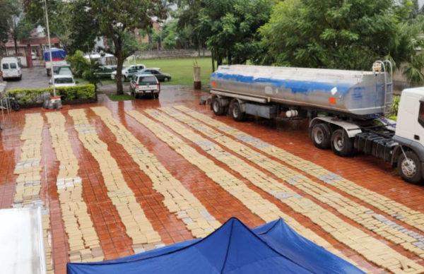 Formosa: llevaba más de 4 toneladas de marihuana en un camión cisterna 1