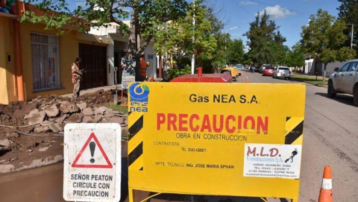 Gas en Sáenz Peña: se iniciaron las primeras instalaciones de redes domiciliarias
