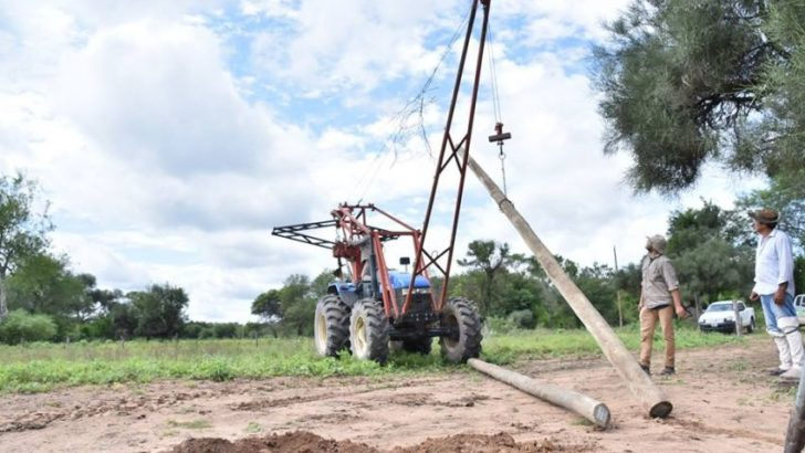 Gobierno avanza en obras de electrificación rural