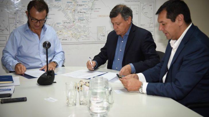 Gobierno y Belgrano Cargas SA firmaron un convenio para mejorar la infraestructura ferroviaria