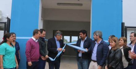 Inauguraron obras en el hospital de Comandancia Frías