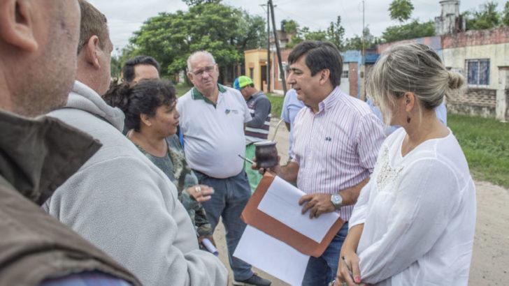 """Martínez: """"pretendemos una intendencia que trabaje con los vecinos en terreno"""""""