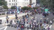 Piquetes, asambleas y ollas populares en una jornada de protesta nacional