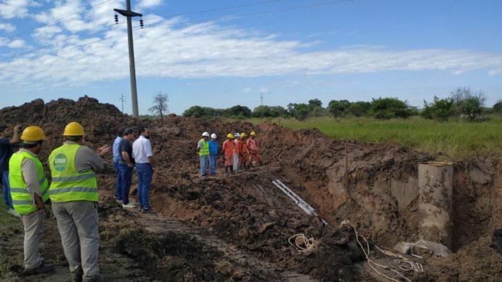 Reparación del segundo acueducto: este miércoles se reactivará el bombeo a Sáenz Peña y Villa Ángela