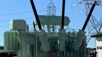 Sáenz Peña: entregan un segundo transformador de 300 megavatios de potencia