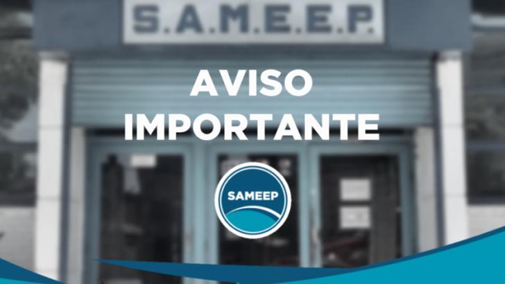 Sameep atenderá los reclamos telefónicos solo a través de sus líneas celulares