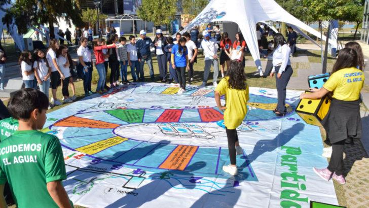 Sameep realizó actividades recreativas por el Día Mundial del Agua
