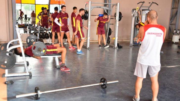Sarmiento volvió a las prácticas con el sueño de la clasificación en marcha