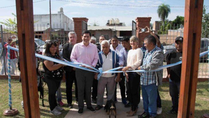 Se inauguró el nuevo centro comunitario del barrio Chelliyi