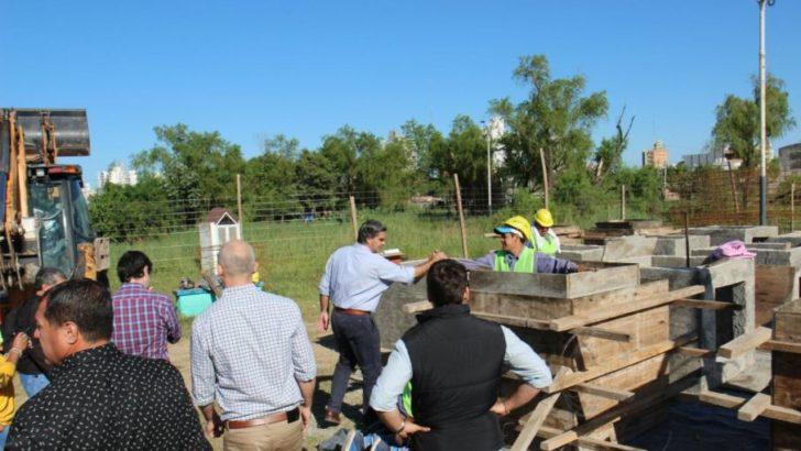 Se inició la obra de ocho cuadras de pavimento urbano en Villa Prosperidad