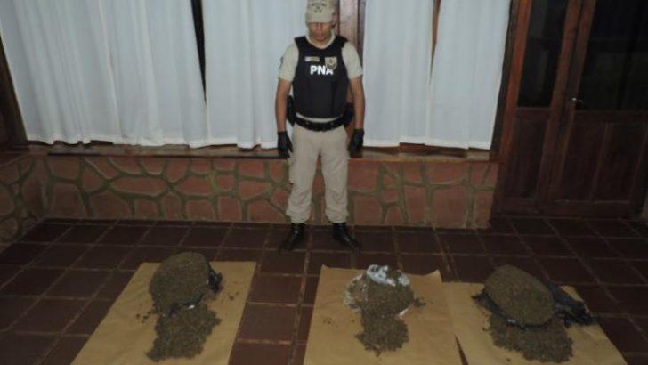 Secuestran un cargamento de marihuana en Misiones