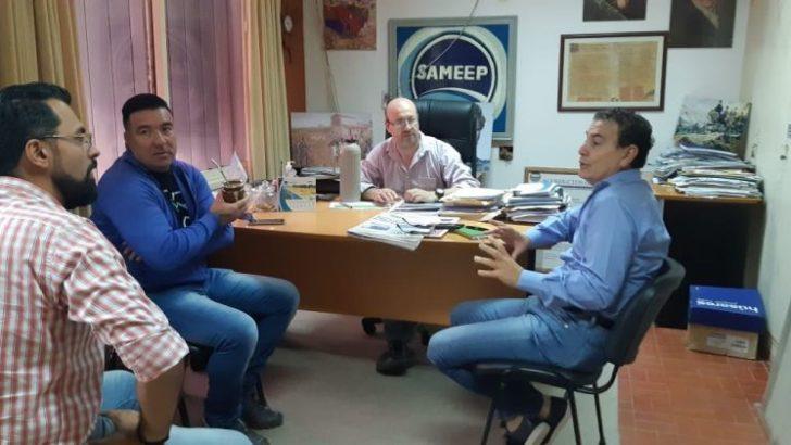 Vilelas: Sameep y Municipio coordinan acciones para mejorar el servicio