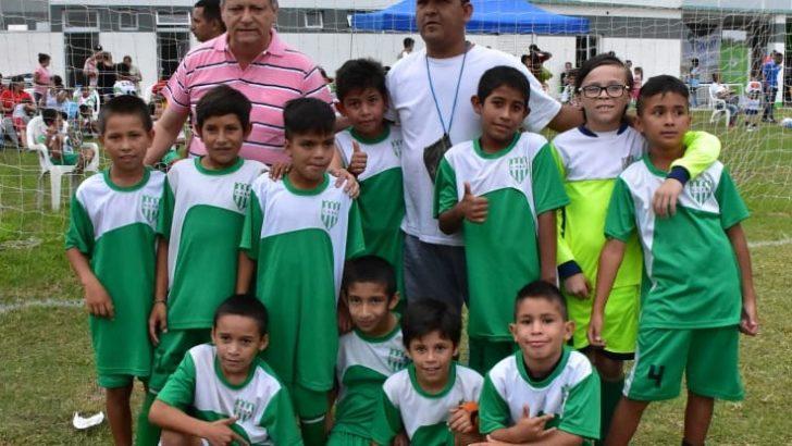 Villa Ángela: Peppo participó de la primera fecha del torneo de fútbol del programa Chaco Sueña y Juega
