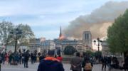 Ardió Notre Dame y Macron anunció que volverán a construir la catedral